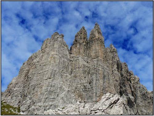Castles ( of dolomite )