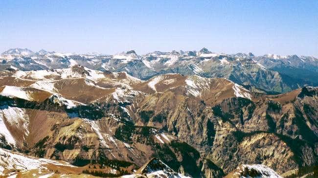 View from Wetterhorn.