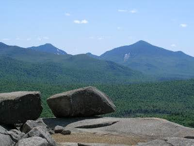 Algonquin and Colden from Pitchoff Mtn.