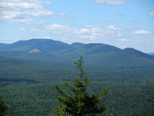 Wakely Mountain from Sawyer Mountain (Sugarloaf Mtn. in foreground)