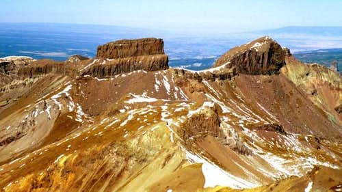 Coxcomb Peak with Redcliff on...