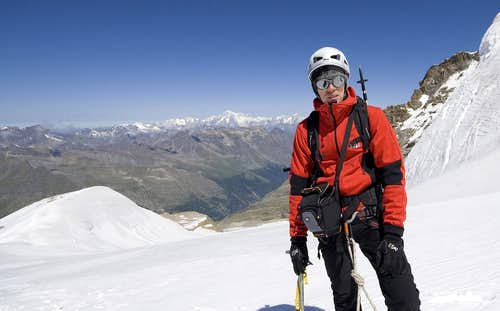 Gran Paradiso - after summit