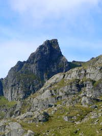 The southern peak of the Cobbler