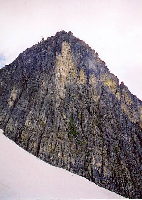 East Face of The Tooth on...