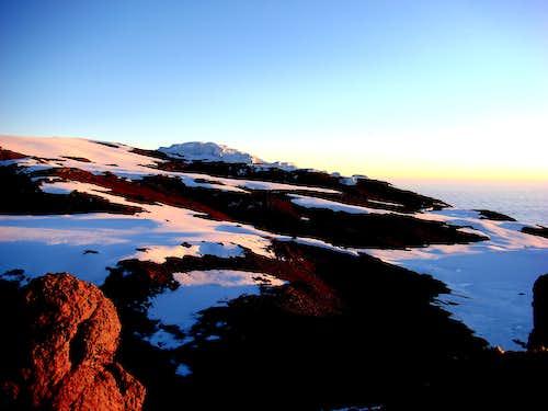 Sunrise on the Kili