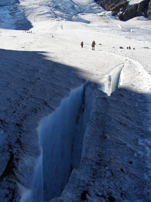 Small Crevasses