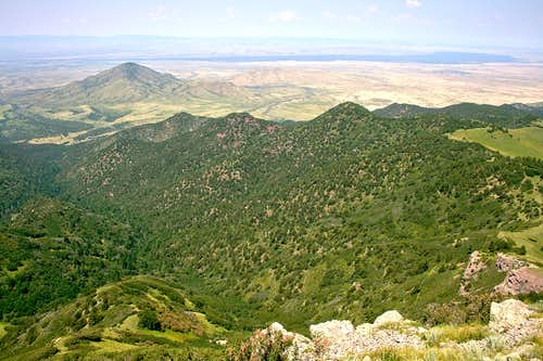 Nogal Peak summit view