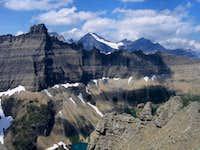 B-7 Pillar, Iceberg Wall, Mount Merritt, from Mount Wilbur...