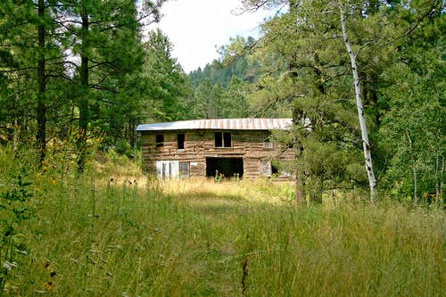 White Mountain Wilderness log building