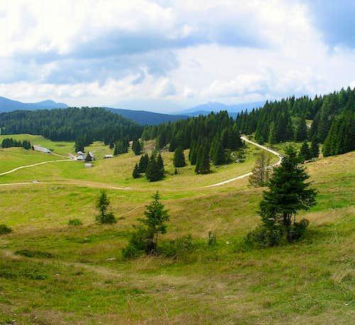 Vezzena pass