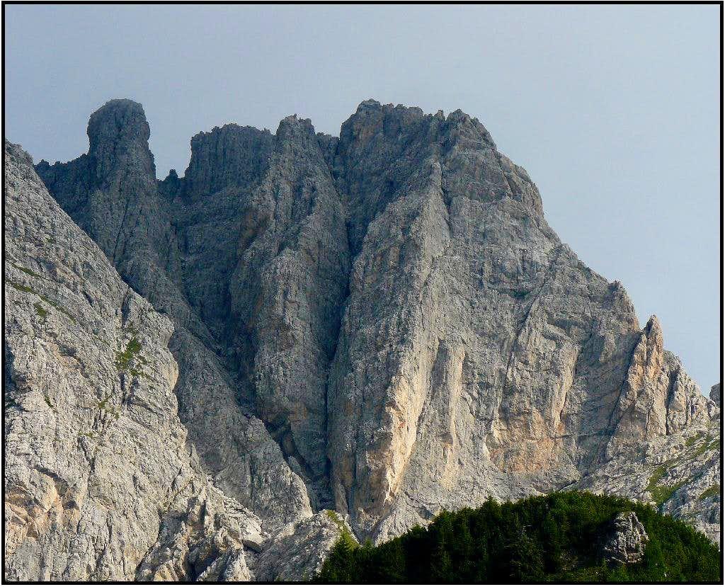 Monte Brentoni - south faces