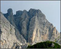 Monte Brentoni - south faces