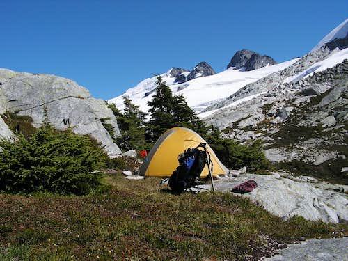 Camp at Perfect Pass