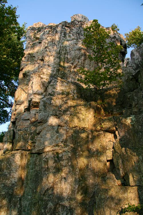 Chimney Rock-- Technical Section
