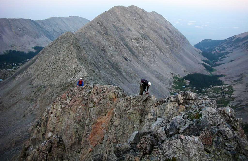 SW Ridge Climbing