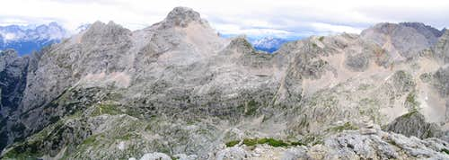Bavski Gamsovec panorama