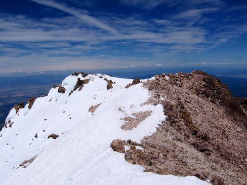 Shasta Summit Shot