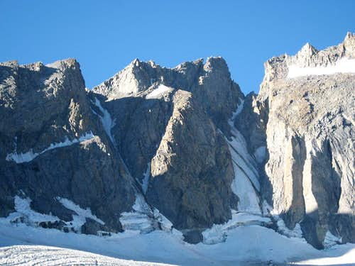 Polemonium Peak from the Palisade Glacier