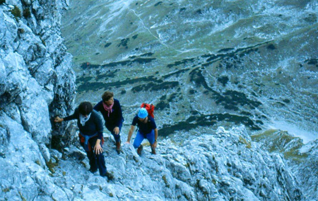 Climbing Sonnenspitze