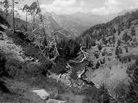 Valle de la Ribereta (B&W)