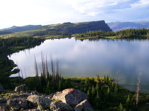 Wall Lake and Ampitheatre Peak