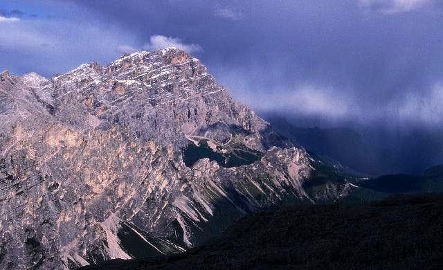 Monte Cristallo, shortly...