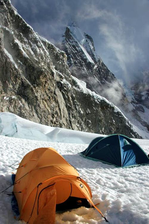 High Camp on Chopicalqui