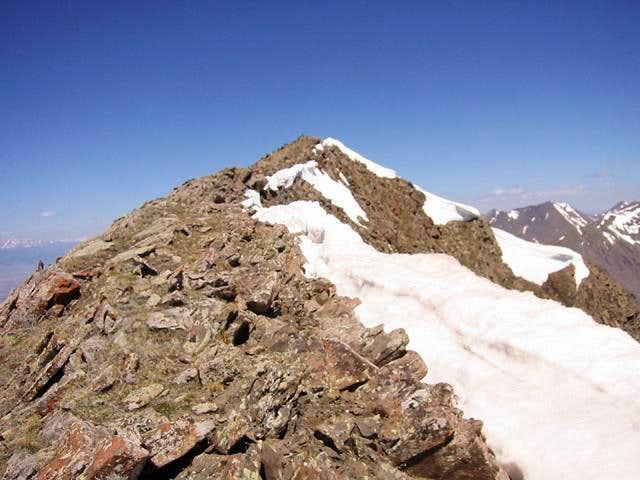 Mount Owen's summit as seen...