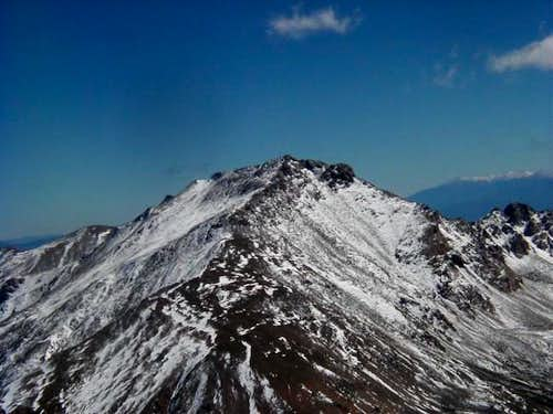 The North side of Mt. Harvard...