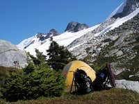 Camp at Imperfect Pass