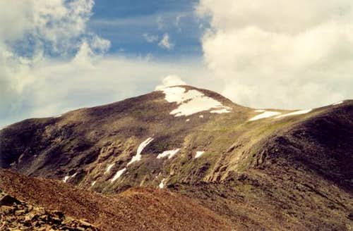 Mount Ouray\'s summit from the...