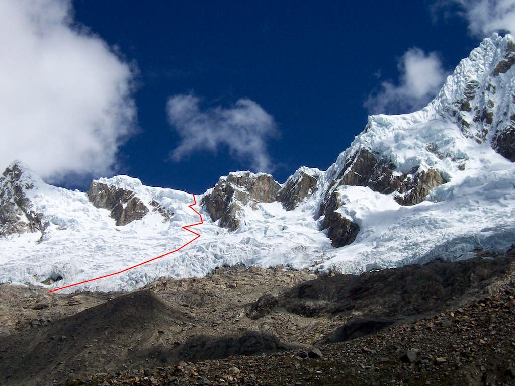 The Route to the Col