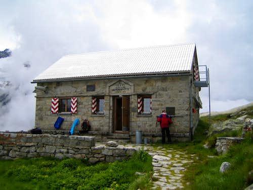 Lauteraar hut