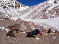 Camp at 4520m
