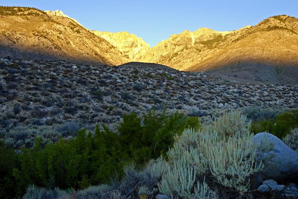 High Desert to the High Sierra: Taboose Pass
