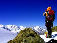 Alphubel- SE ridge
