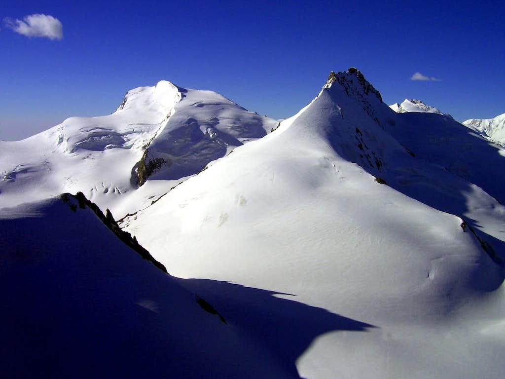 Strahlhorn and Rimpfischhorn