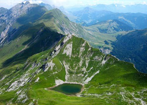 Lac du Mont Charvin (2010m)