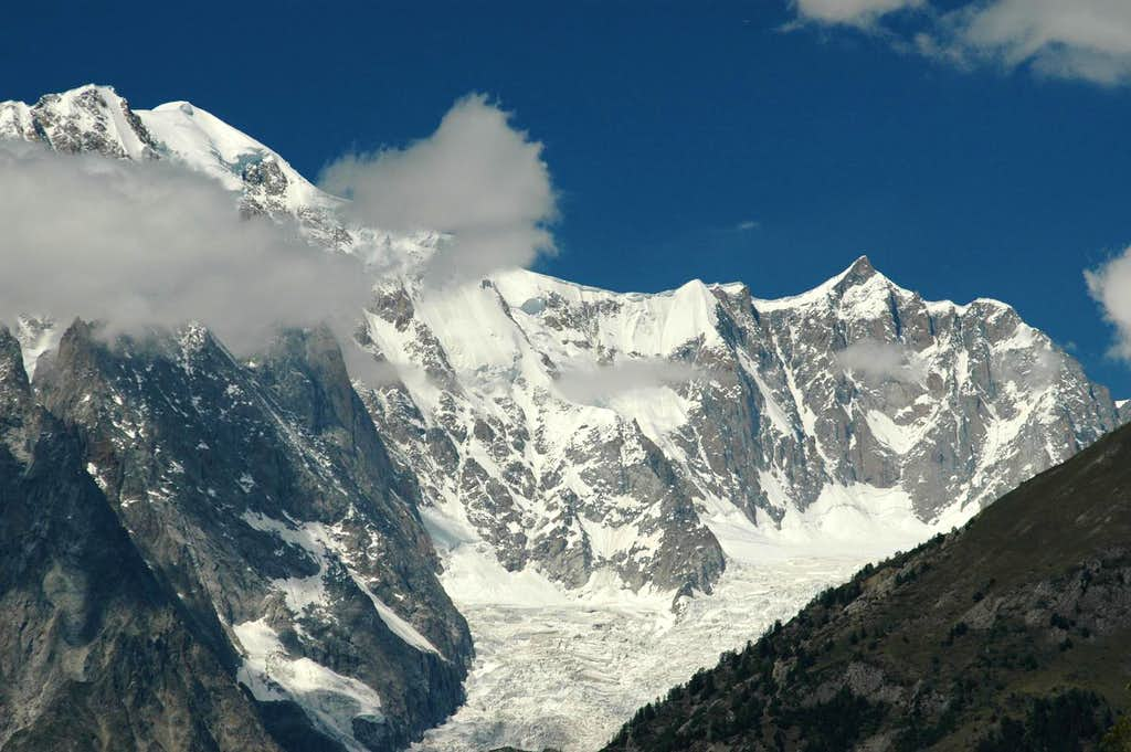 From Mont Blanc to Mont Maudit