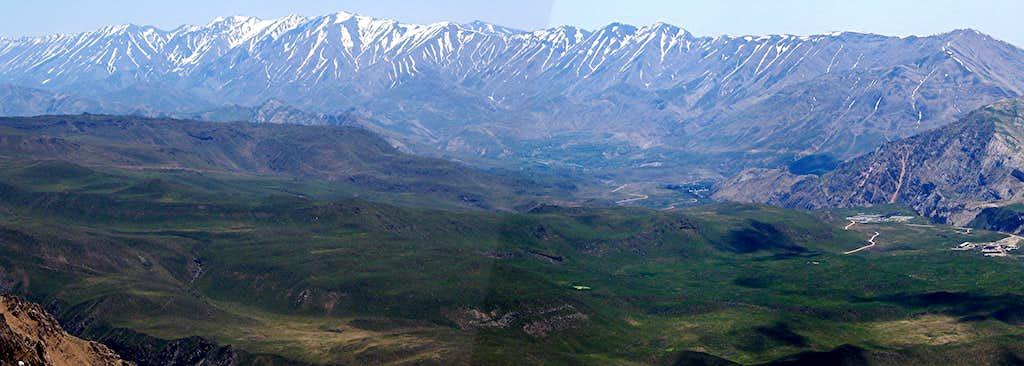 Dobrar (Ghareh Dagh) Ridgeline