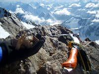 K2 Summit Rocks