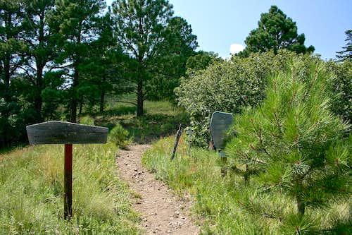 Crest Trail north trailhead