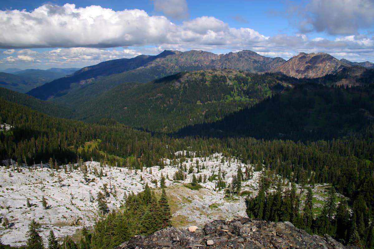 Marble Mountain Marble Rim Climbing Hiking