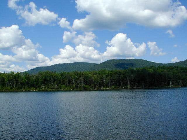 Wakely Mtn. from Wakely Pond