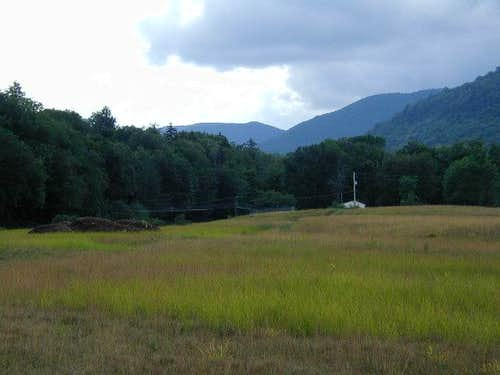 Wakely Mtn. From Brown's Meadow