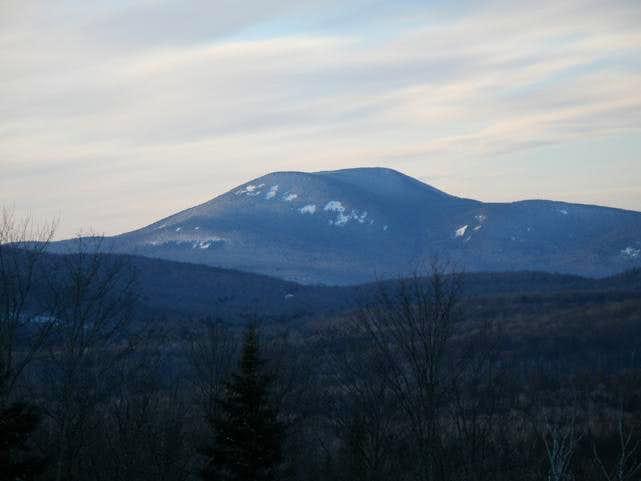 Blue Mountain in Winter