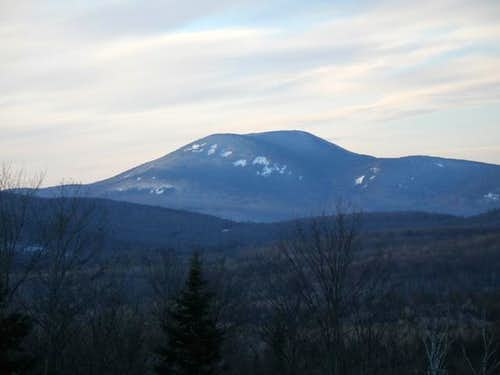 Blue Mountain in Winter