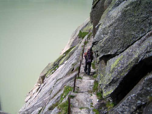 Hiking to Lauteraar hut