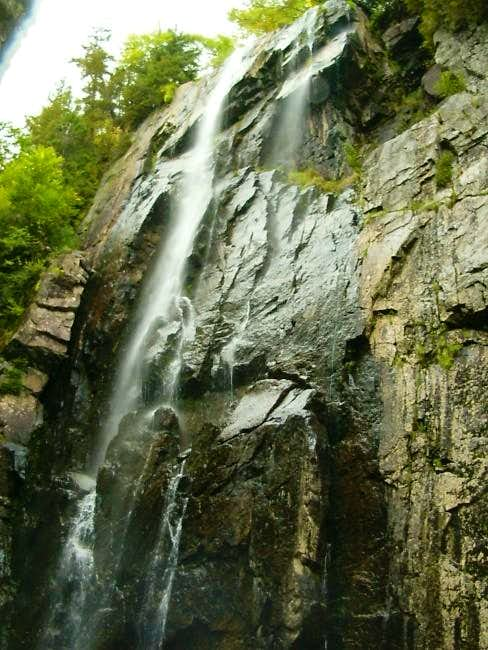 Raimbow Falls on the Sawteeth...