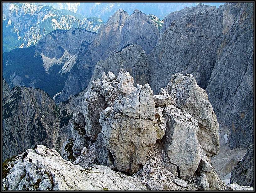 Nabois/Nabojs summit scenery